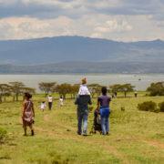 Crescent Island near Nairobi, Kenya