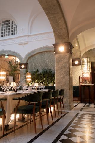 Bonnie's Dining Room, Bank Hotel © Jens Bergstrand