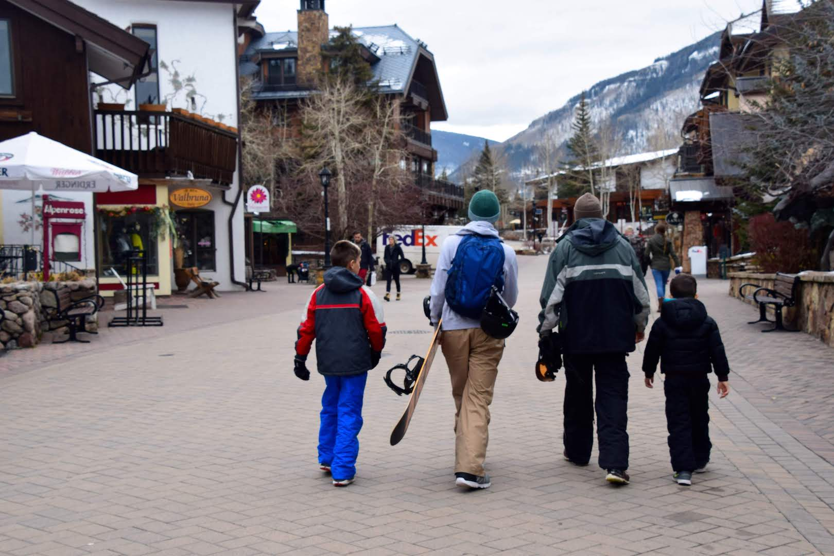 Three Perfect Days in Vail with Mixed-Age Kids