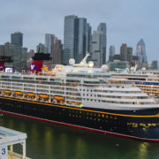 Disney Cruise Line, Disney Magic, Docked in NYC