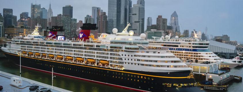 Disney Cruise Line, Disney Magic, Docked in NYC