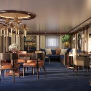 Oceania Cruise Living Room
