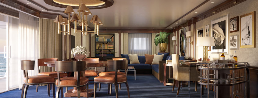 Oceania Cruise Living Room