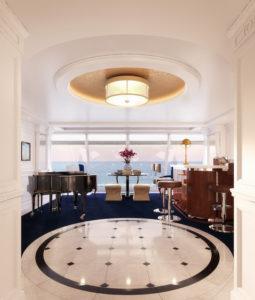 Oceania Cruise interior entry