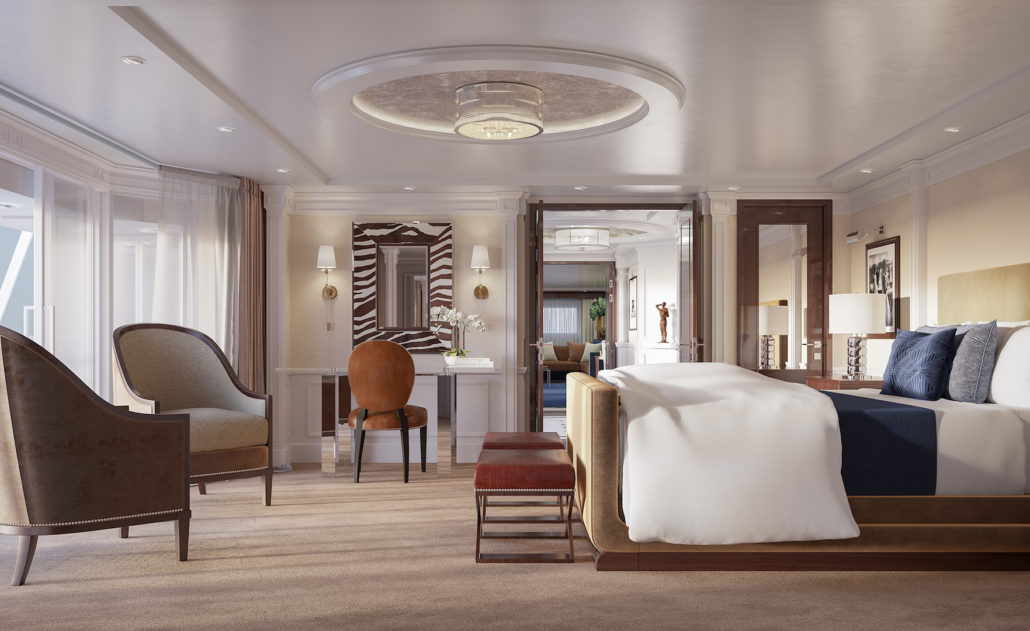 Oceania Cruise Bedroom