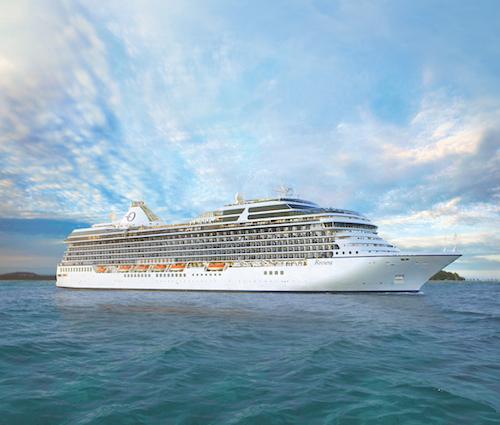 Riviera exterior © Oceania Cruises