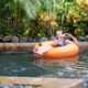 Floating down the lazy river at Waterbom, Bali © Alexey Kornylyev   Dreamstime.com