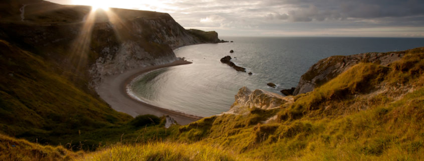 Dawn on the Jurassic Coast