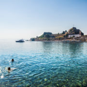 Swimming in Corfu © Alfio Finocchiaro | Dreamstime.com