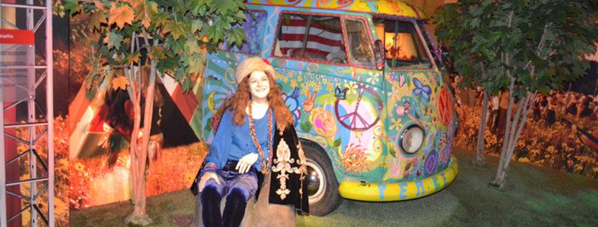Janis Joplin wax statue exhibit