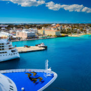 Carnival Cruise Ship in the Bahamas