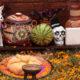 Dia de los Muertos alter in Los Angeles, California