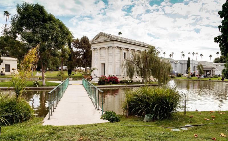 Hollywood Forever Cemetery © Stephanie Starr - Dreamstime.com
