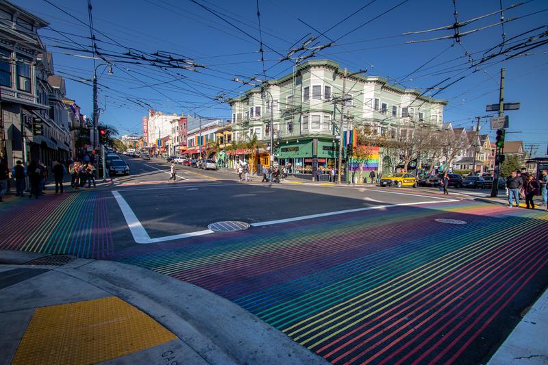 Castro neighborhood of San Francisco, California © Diego Grandi | Dreamstime.com