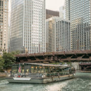 Odyssey Chicago River cruise © Entertainment Cruises