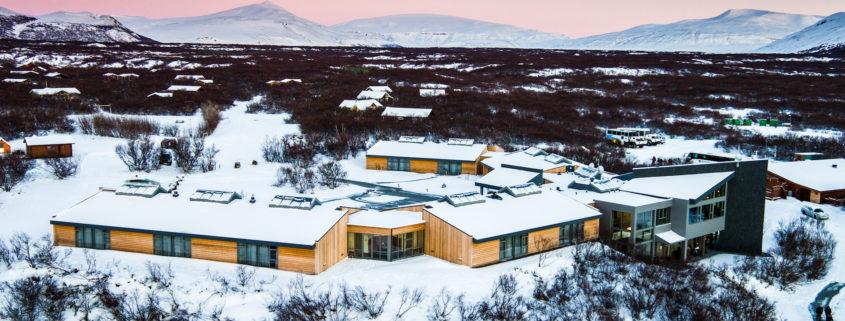 Hotel Húsafell - Glacier view
