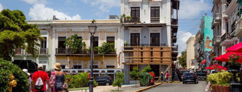 Old San Juan after