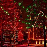 Ohio Village Christmas Lights © Kenneth Sponsler | Dreamstime.com