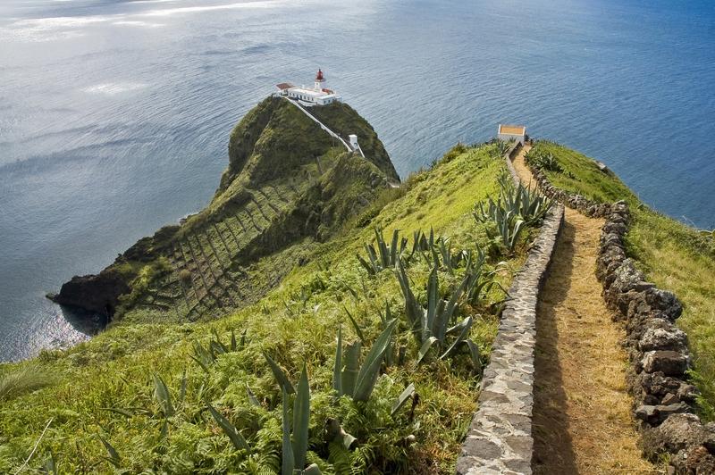 Santa Marie Island lighthouse, Azores, Portugal © Anibal Trejo | Dreamstime.com