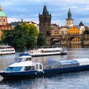 River Cruise, Vltava, Prague, Czech Republic © Mykyta Starychenko | Dreamstime.com