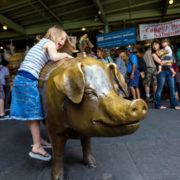 Pike Place Market's unofficial mascot © F11photo | Dreamstime.com