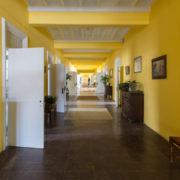Long corridor inside Trans-Allegheny Lunatic Asylum