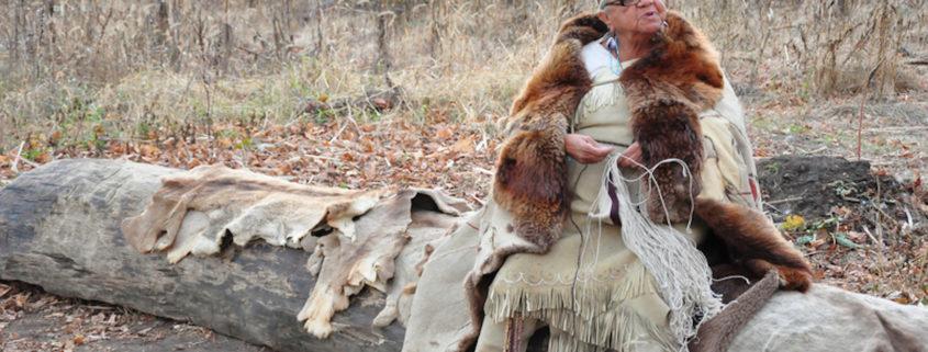 Wampanoag Native at Plimouth Plantation