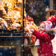 Kids at a Christmas Market © Famveldman | Dreamstime.com