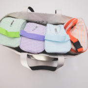 Travel bag with Easy Baby accessories © Easy Baby Traveler
