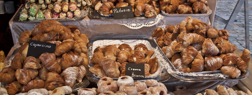 Italian Bakery at Christmas Market
