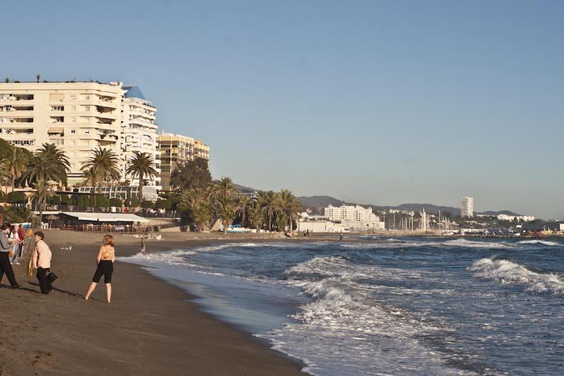 Marbella beach, Spain