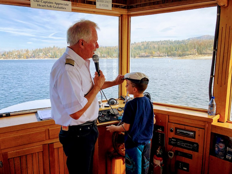 Captain and Skipper © Rina Nehdar