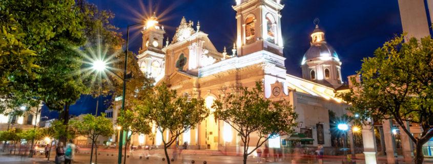 Salta, Argentina Cathedral © Diego Grandi | Dreamstime.com