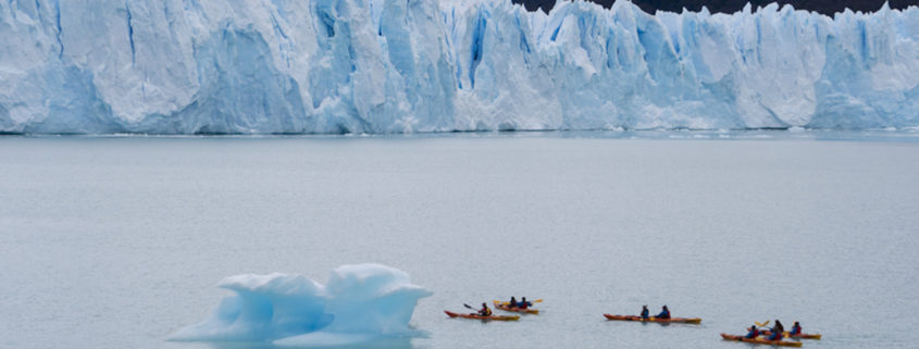 Glacier Kayaking in Argentina © Ymgerman | Dreamstime.com