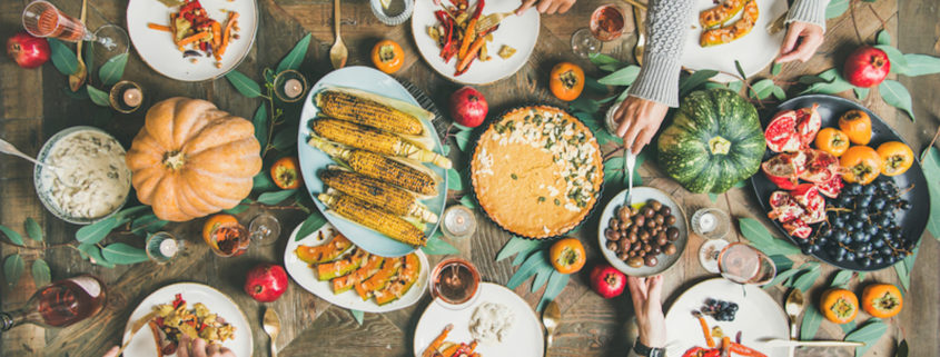Vegetarian holiday meal