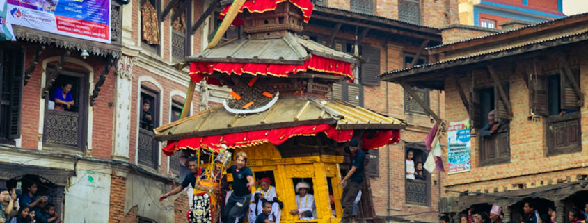 Bisket Jatra, Bhaktapur © Niraj Byanju   Dreamstime.com