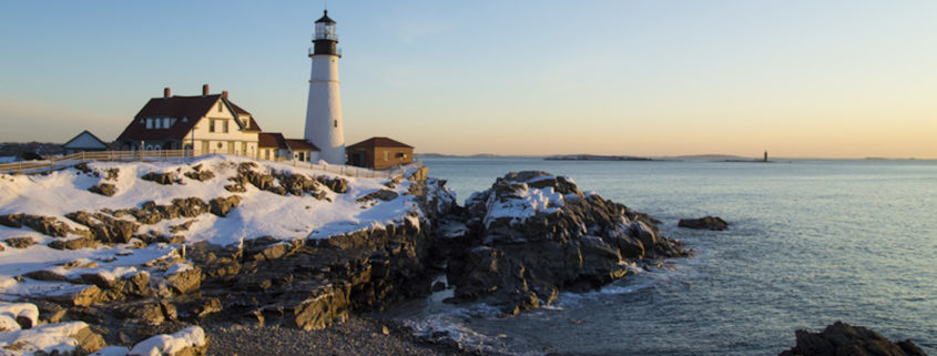 Winter in Portland, Maine © Adam Parent | Dreamstime.com