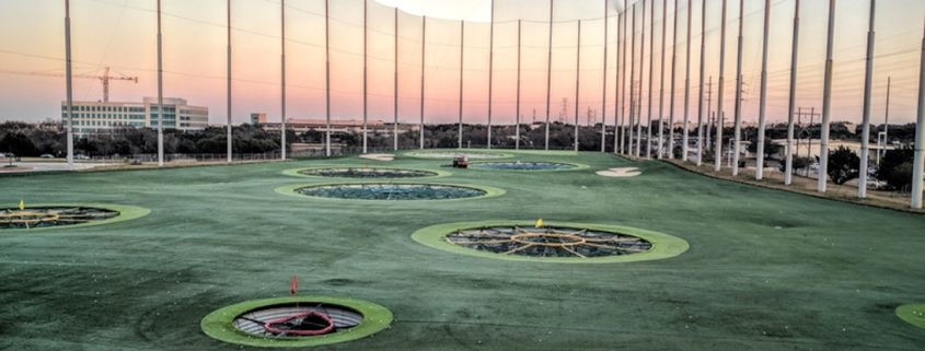 TopGolf in Austin, Texas © Noamfein | Dreamstime.com