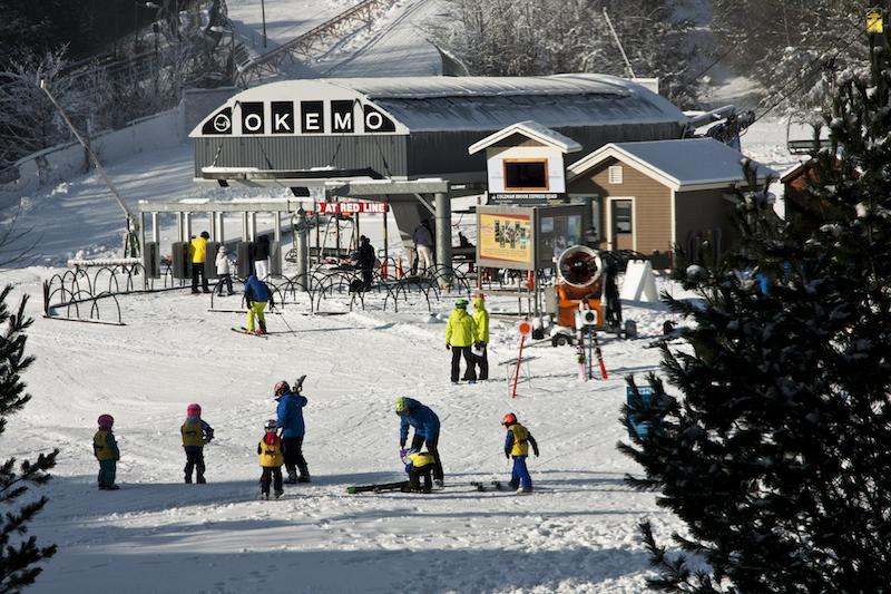 Ludlow, Okemo Mountain Resort, Jackson Gore, Vermont © Stillman Rogers