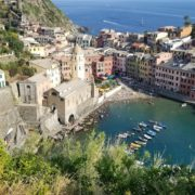 A short but steep hike will reward you with a view of all of Vernazza