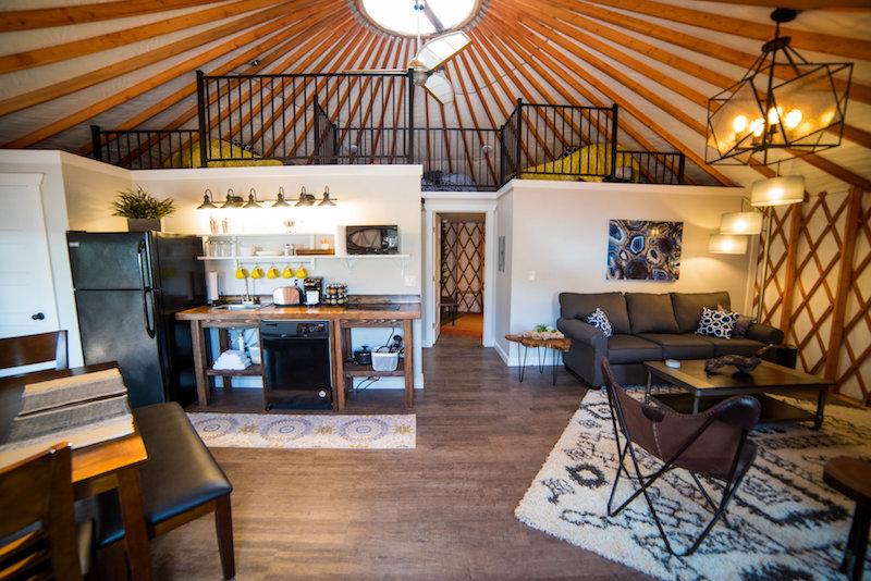 Cedar © Escalante Yurts