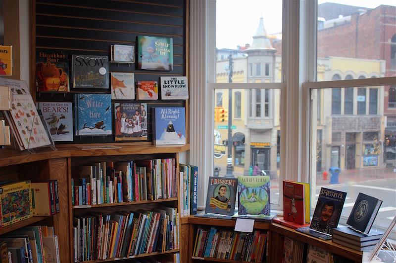 Ann Arbor Bookstore Kids Area