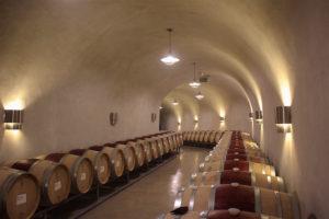 Barrels of the Palmaz Vineyards © Elyse Glickman