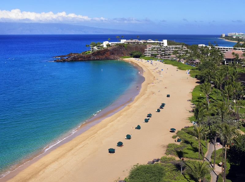 Exterior Along Beach © Sheraton Maui Resort and Spa