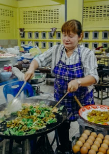 Oyster Omelet Chef, Thailand