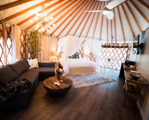Willow © Escalante Yurts