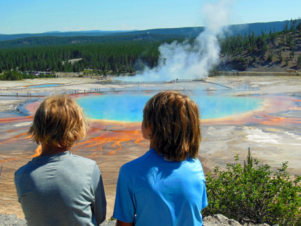 Family Time in Yellowstone National Park - Wherever Family