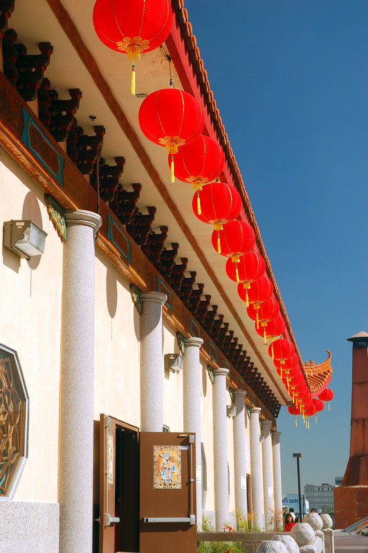 Thien Hau Temple During Chinese New Year, Los Angeles © James Kirkikis | Dreamstime.com