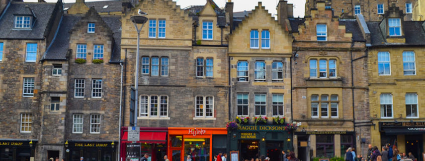 The Grassmarket in Edinburgh, Scotland © Jesus Barroso | Dreamstime.com