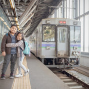 Family at Japanese train station © Kwanchaichaiudom | Dreamstime.com